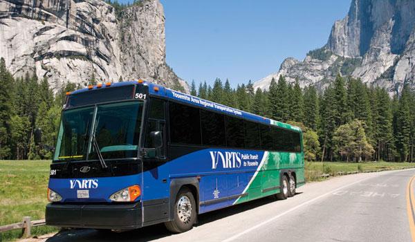 Yarts Bus Yosemite Park