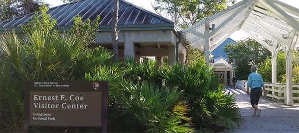 Ernest F. Coe Visitor Center