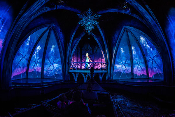 Frozen Epcot Walt Disney World