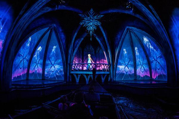 Frozen Epcot Walt Disney World