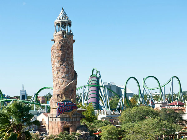 Islands of Adventure Entry Tower
