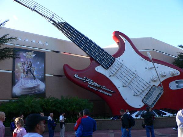 Rock N Roller Coaster Disney Orlando