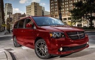 MPV og minivan billeje i USA