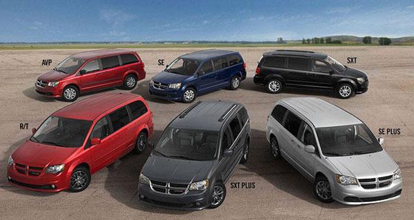 Dodge Grand Caravan modeller