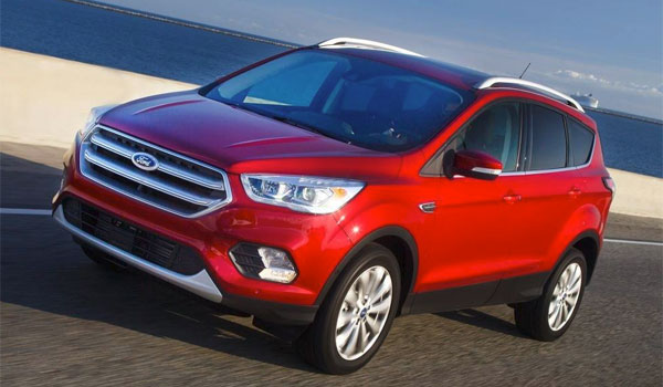 Ford Escape SUV anbefaling