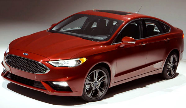 Ford Fusion Rent A Car