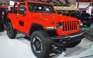 Jeep Wrangler Rubicon - LA Auto Show