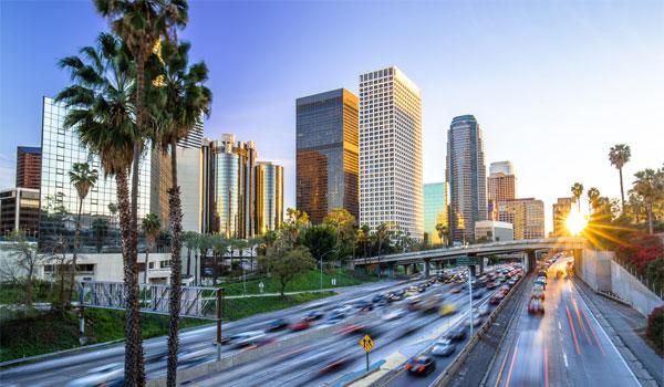 Los Angeles skyskrabere