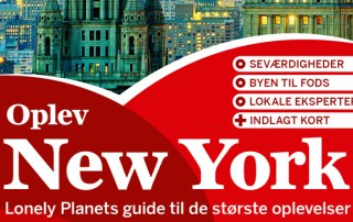 New York guidebog Lonely Planet