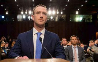 Mark Zuckerberg høring senat 2018
