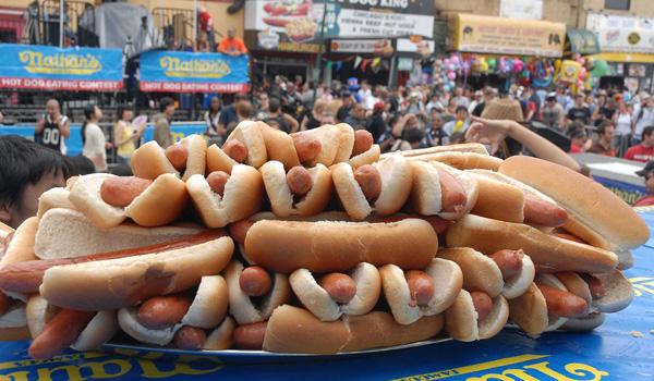 4 July hotdog