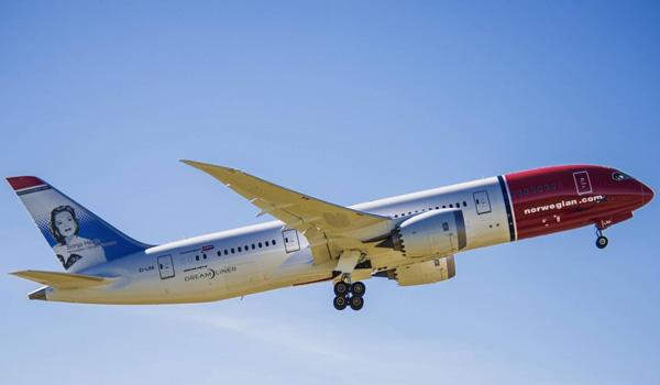 Norwegian udsalg på flybilletter til USA