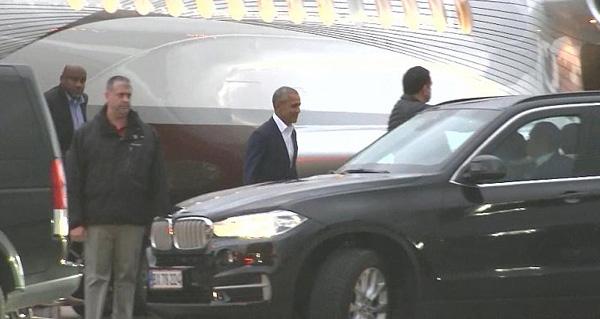 Barack Obama er kommet til Danmark