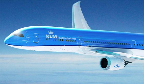KLM ruter til Las Vegas