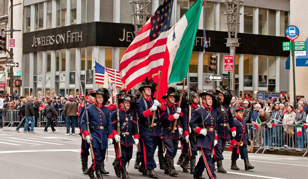 Columbus Day parade i New York