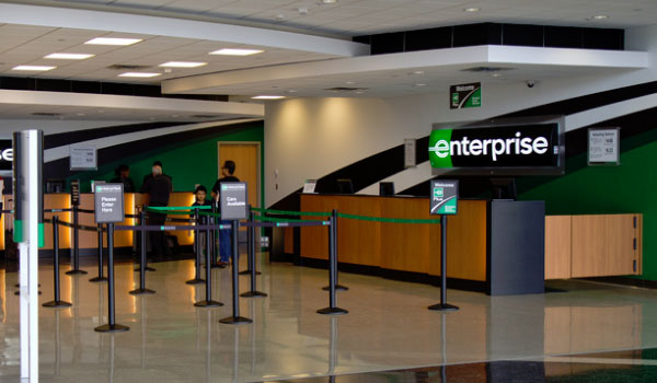 Enterprise car rental office US