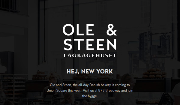 Ole and Steen New York Union Square