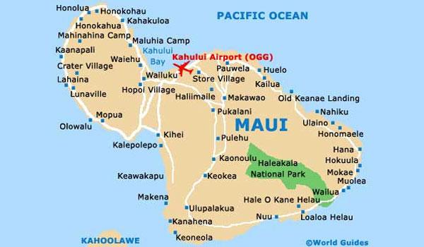 Kahului Lufthavn Maui Hawaii