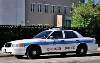 Chicago Police politibil