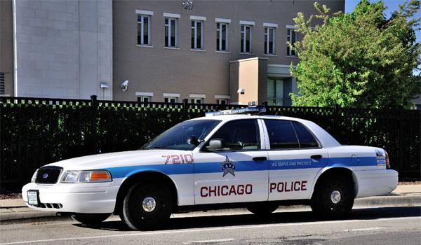 Chicago Police politibil