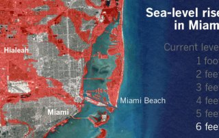 Miami Sea Level Rise Illustration