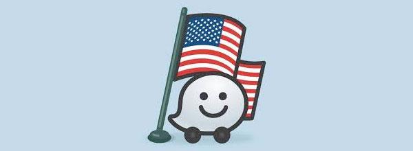 Waze - Bedste USA Navigations App