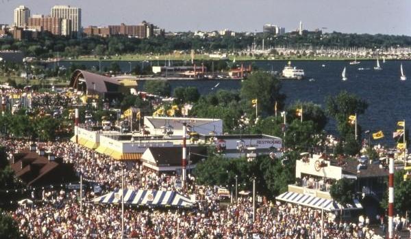Summerfest Lake Michigan
