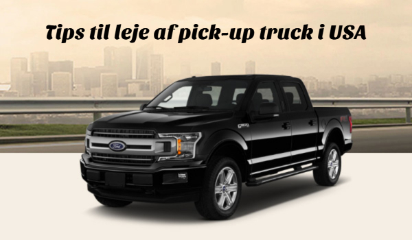 Lej pickup truck i USA