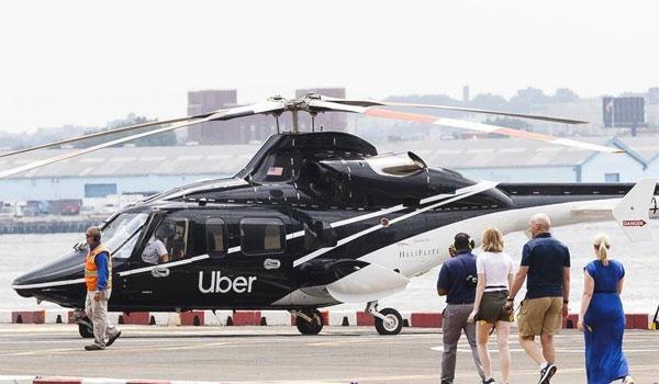Uber helikopter New York