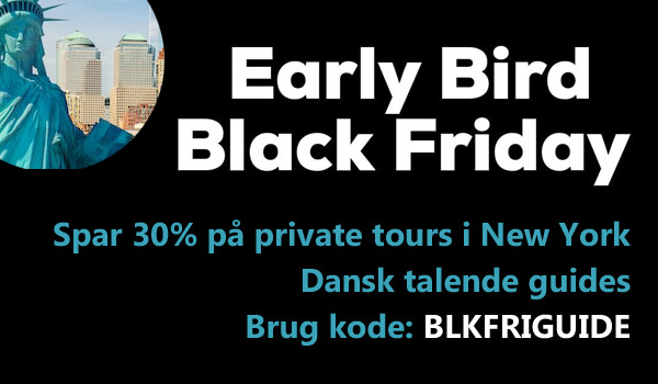 Turist i New York - Black Friday rabatkode