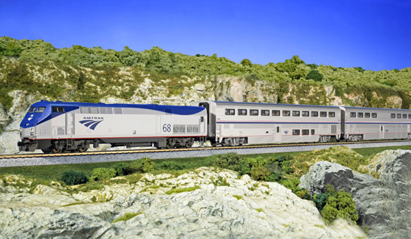 USA med tog - Amtrak Superliner