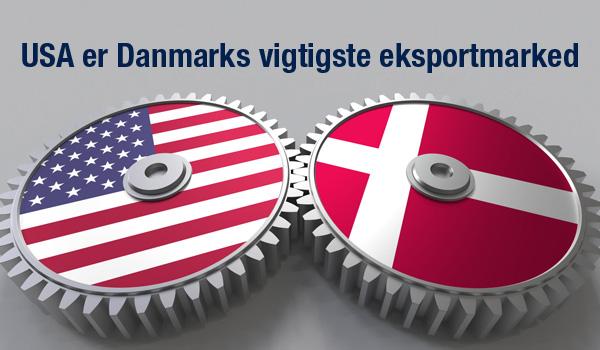 Danmarks største eksportmarked USA