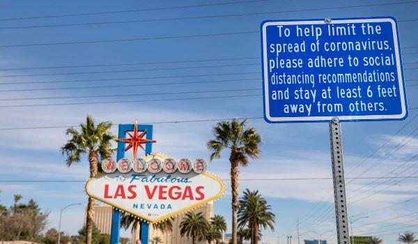 Las Vegas corona krise