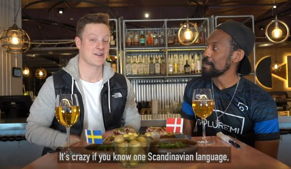 Amerikanere taler dansk