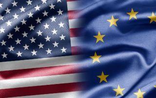 USA Europa flag