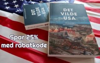 Det Vilde USA bog