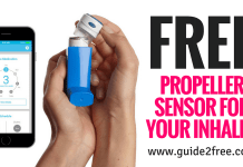 FREE Propeller Sensor For Your Inhaler