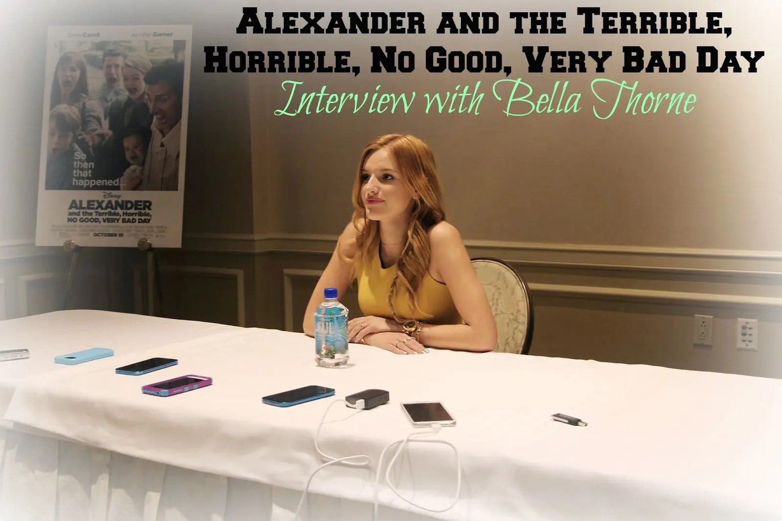 Bella Thorne From Alexander And Terrible Horrible No