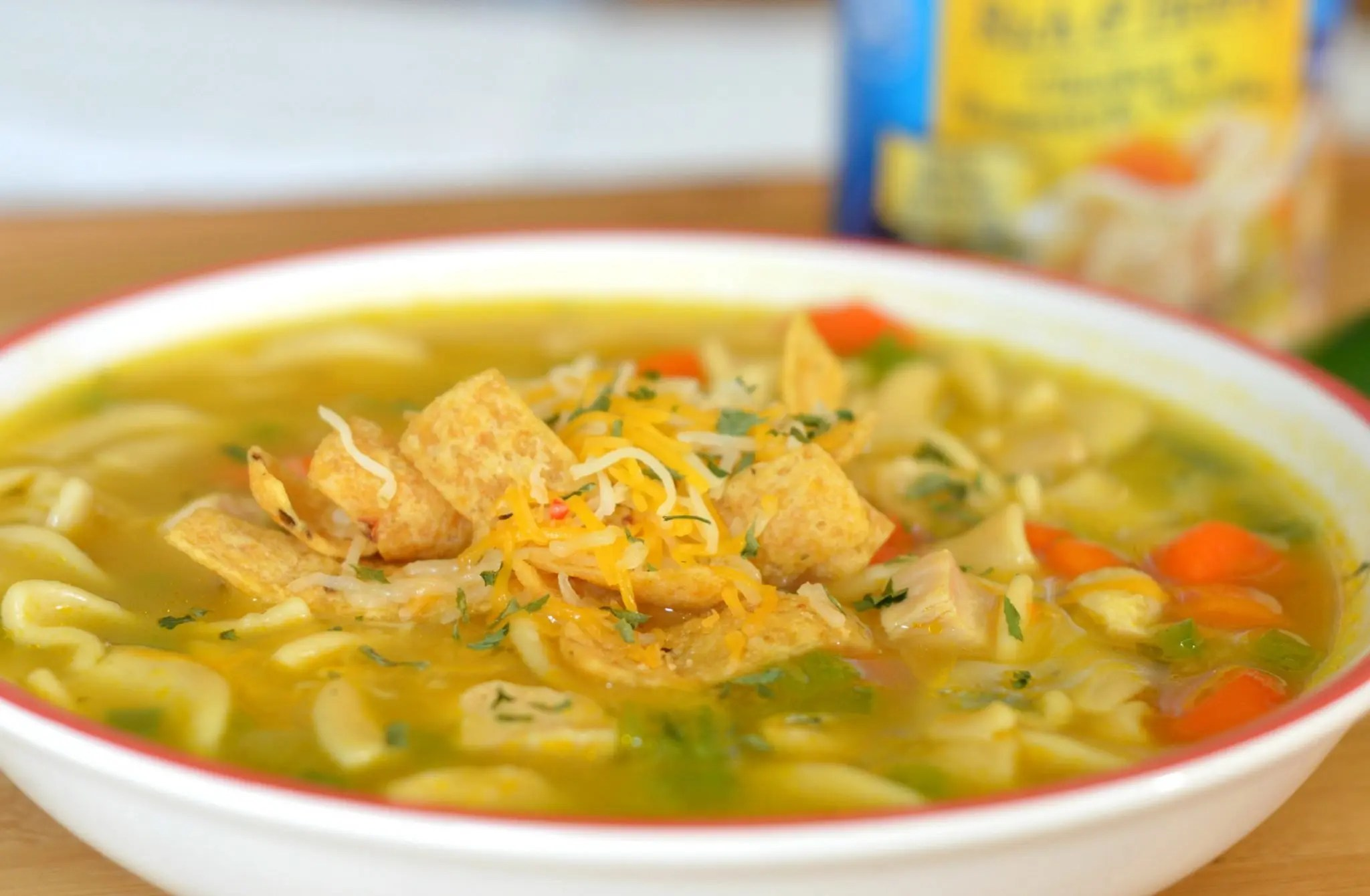 Easy Chicken Noodle Soup Recipes With A Mexican Amp Thai Twist