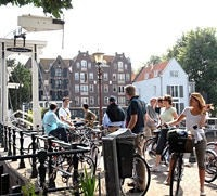 Guided tour in Amsterdam