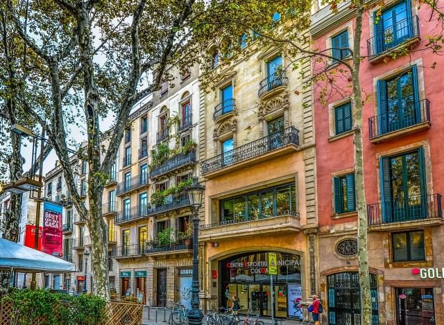 Colorful Barcelona