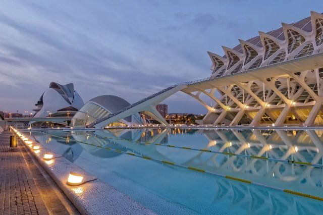 Valencia er en fantastisk by med utrolig mye spennende arkitektur