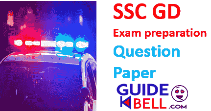 SSC GD Previous Year Paper