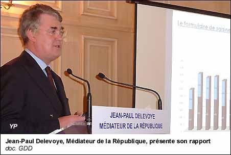 """Résultat de recherche d'images pour """"jean paul delevoye médiateur de la république"""""""