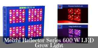 Meizhi Reflector Series 600 W LED Grow Light Review
