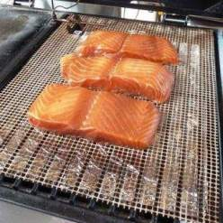 How long to smoke salmon at 150 degrees