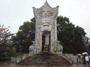 Le cimetière national de Truong Son