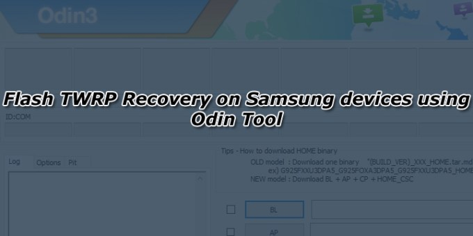 How to delete twrp with odin