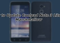 How to Update Coolpad Note 3 Lite to Marshmallow