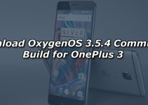 Download OxygenOS 3.5.4 Community Build for OnePlus 3
